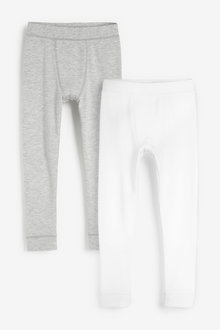 Next 2 Pack Thermal Leggings (2-16yrs) - 258907