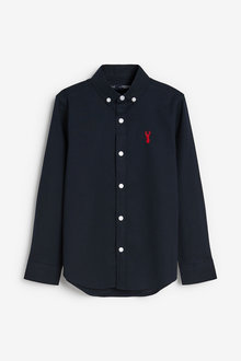 Next Long Sleeve Oxford Shirt (3-16yrs) - 258920