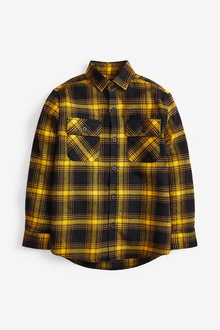 Next Long Sleeve Buffalo Check Shirt (3-16yrs) - 258921