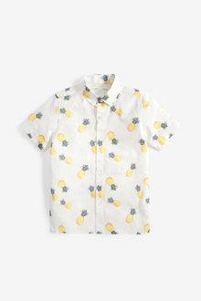 Next Short Sleeve Shirt (3-16yrs) - 258930