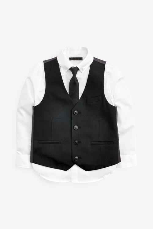 Next Waistcoat, Shirt And Tie Set (12mths-16yrs)