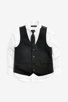 Next Waistcoat, Shirt And Tie Set (12mths-16yrs) - 258939
