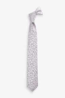 Next Floral Silk Tie (1-16yrs) - 258951