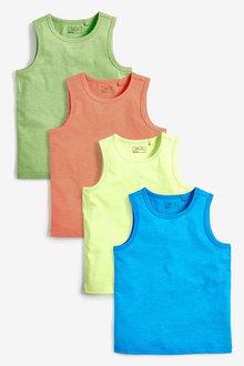 Next 4 Pack Vests (3-16yrs) - 258962