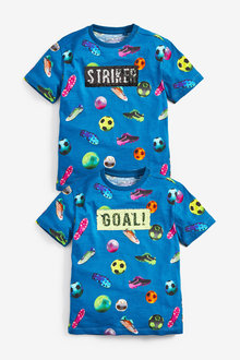 Next Football Goal Sequin T-Shirt (3-16yrs) - 258977