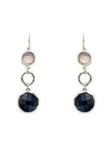 Amber Rose Drop Earrings - 259014