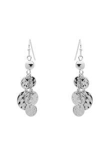 Amber Rose Cascade Disc Earrings - 259029