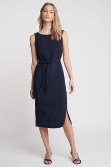 Next Soft Belted Dress - 259044