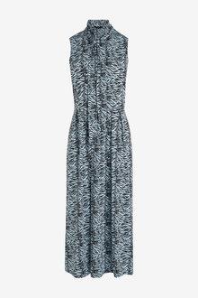 Next Tie Neck Dress - 259094