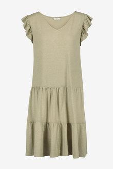 Next V-Neck Frill Sleeve Dress - 259127