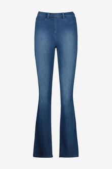 Next Jersey Denim Boot Cut Jeans - 259136
