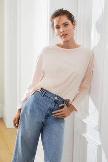 Emerge Organic Cotton Long Sleeve Tee - 259473
