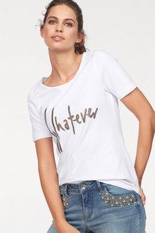 Urban Metallic Print T-Shirt - 259704