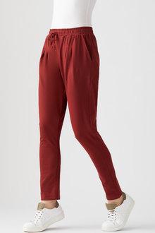Capture Stretch Cotton Casual Pants - 259795