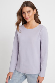 Capture Ribbed Long Sleeve Top - 259804