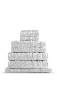 Royal Comfort Eden Egyptian Cotton Eight-Piece Luxury Towel Set - 260232