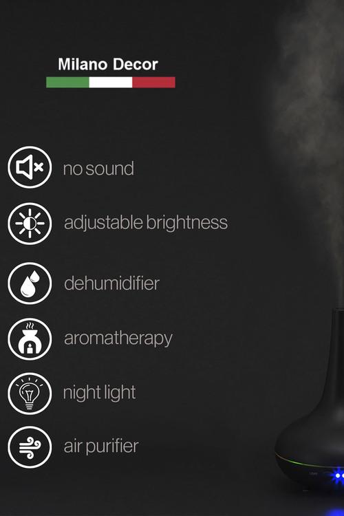 Milano Décor Ultrasonic Aroma Diffuser