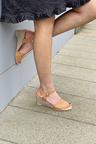 Bueno Josie Wedged sandal