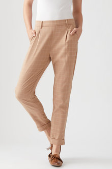 Pleat Front Pull On Pant - 260259