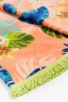 Bambury Desigual Floral Round Beach Towel