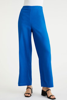 Emerge Linen Blend Wide Leg Pant - 260344