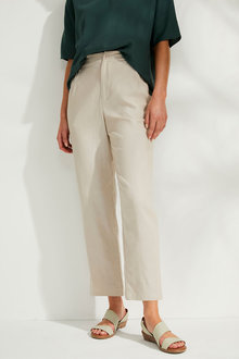 Emerge Go To Linen Blend Pant - 260353