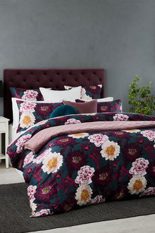 Luxe Floral Duvet Cover Set - 260384