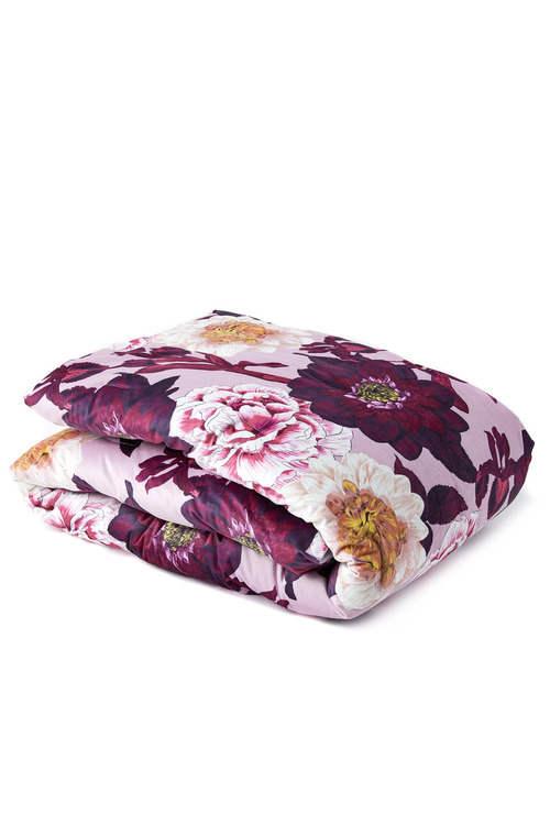 Luxe Floral Throw