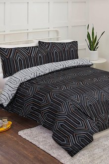 Bambury Metro Printed Duvet Cover Set - 260431