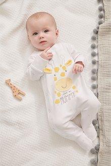 Next I Love My Mummy Giraffe Sleepsuit (0-18mths) - 260508