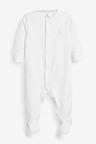 Next 3 Pack GOTS Organic Cotton Sleepsuits (0-18mths)
