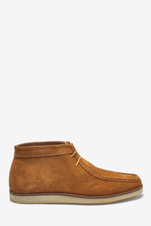 Next Suede Wallabee Boots - 260554