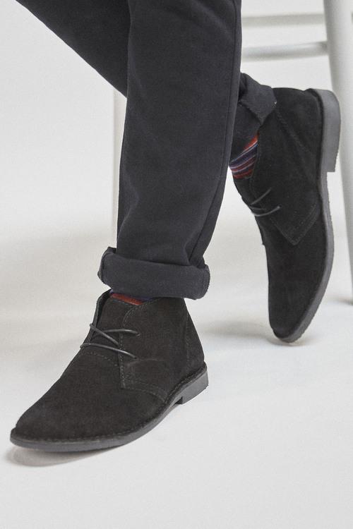 Next Desert Boots-Wide Fit
