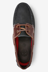 Next Leather Boat Shoes