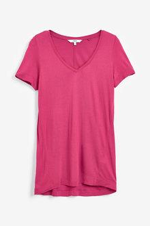 Next Slouch V-Neck T-Shirt - 260711