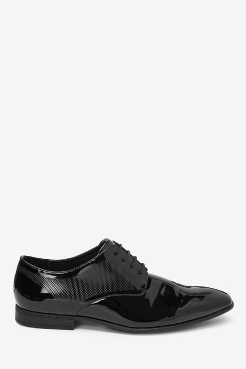 Next Textured Derby Shoes