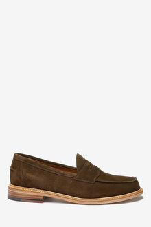 Next Sanders for Next Suede Penny Loafers - 260731