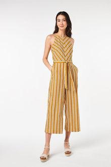 Next Linen Blend Jumpsuit-Petite - 260812