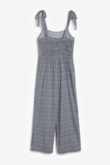Next Tie Shoulder Jumpsuit-Petite - 260842