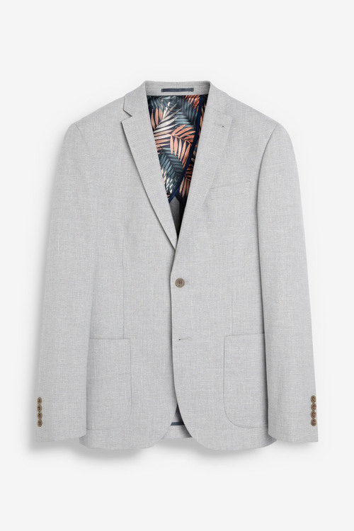 Next Linen Blend Suit: Jacket