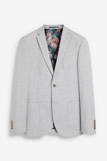 Next Linen Blend Suit: Jacket - 260888
