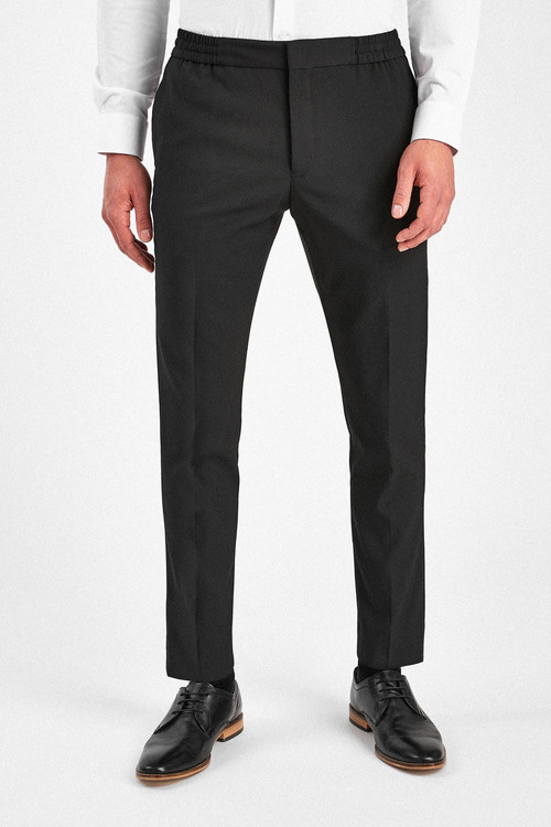 Next Stretch Tonic Suit: Trousers-Slim Tapered