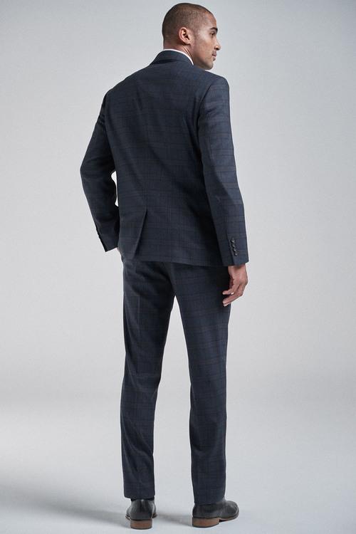 Next Check Suit: Jacket-Regular Fit