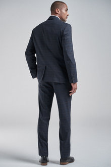 Next Check Suit: Jacket-Regular Fit - 260893