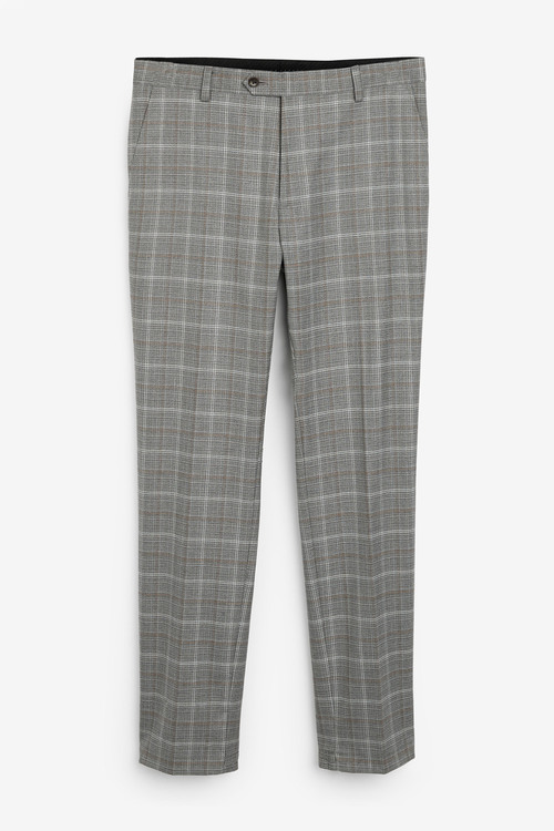 Next Check Suit: Trousers-Skinny Fit