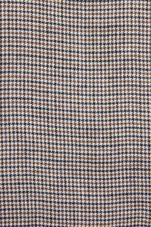 Next Nova Fides Signature Check Linen Blazer