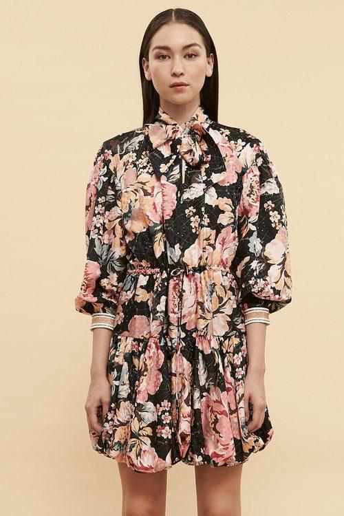 Ginger & Smart Floral Charts Dress