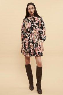 Ginger & Smart Floral Charts Dress - 261040