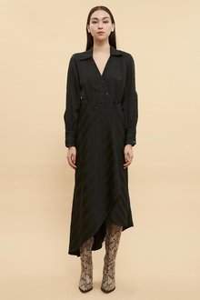 Ginger & Smart Stellar Wrap Dress - 261046