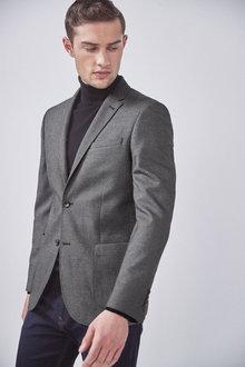 Next Textured Blazer-Slim Fit - 261056